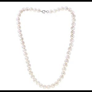 Effy white pearl collar necklace